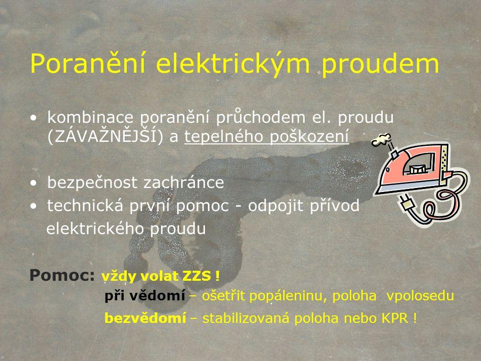 Poranění elektrickým proudem