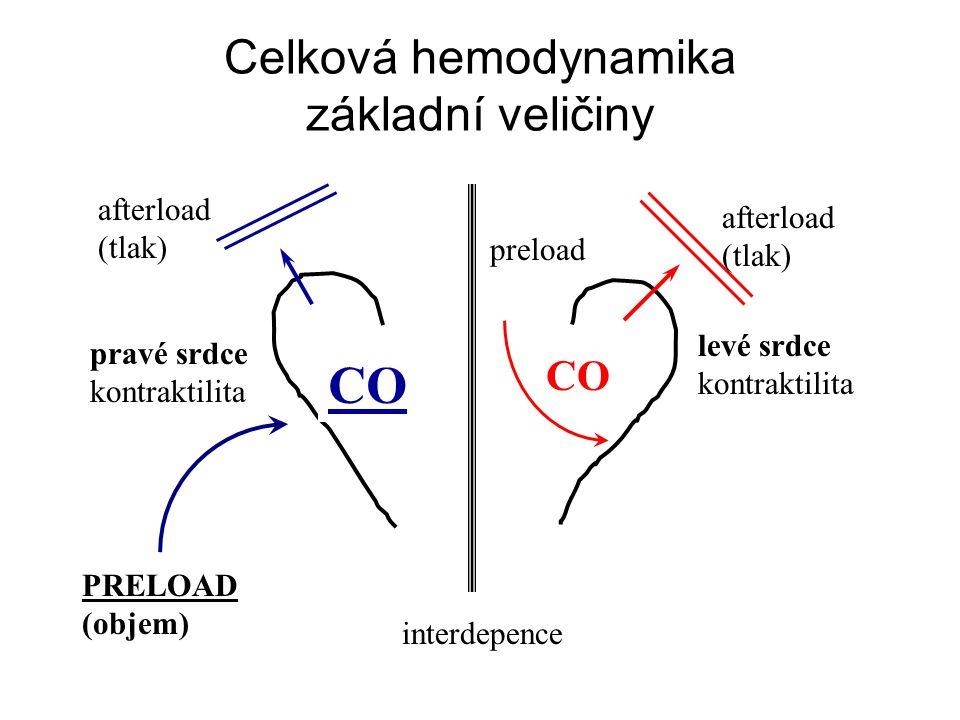 Celková hemodynamika základní veličiny