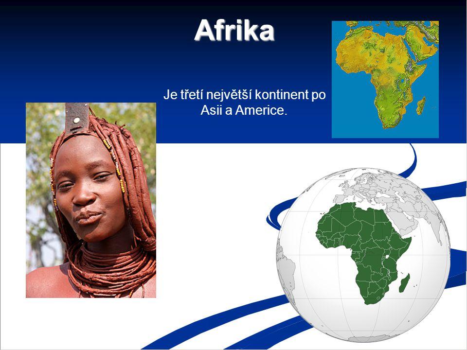 Je třetí největší kontinent po Asii a Americe.