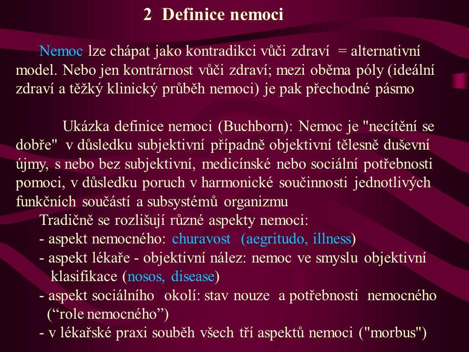 2 Definice nemoci
