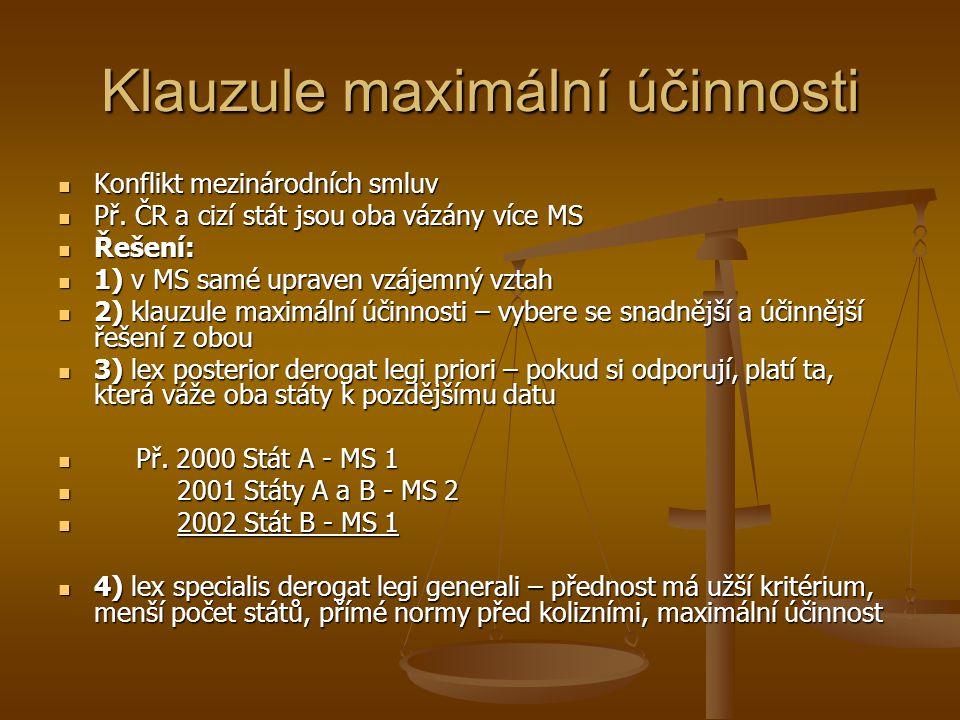 Klauzule maximální účinnosti