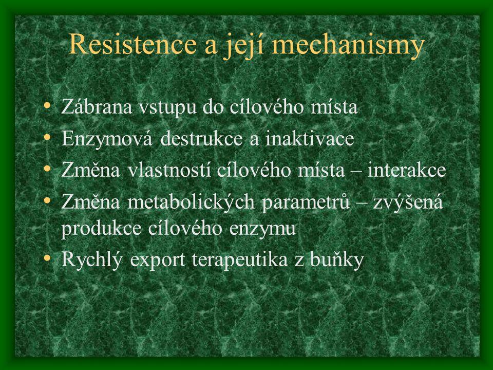 Resistence a její mechanismy