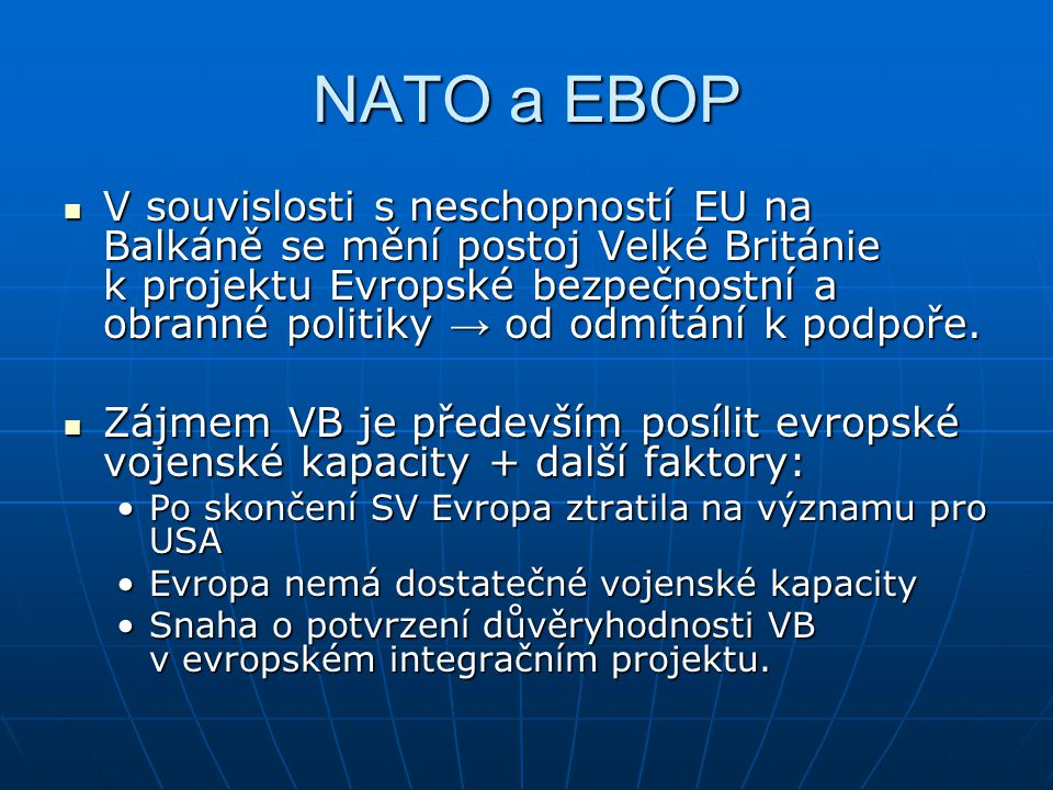 NATO a EBOP