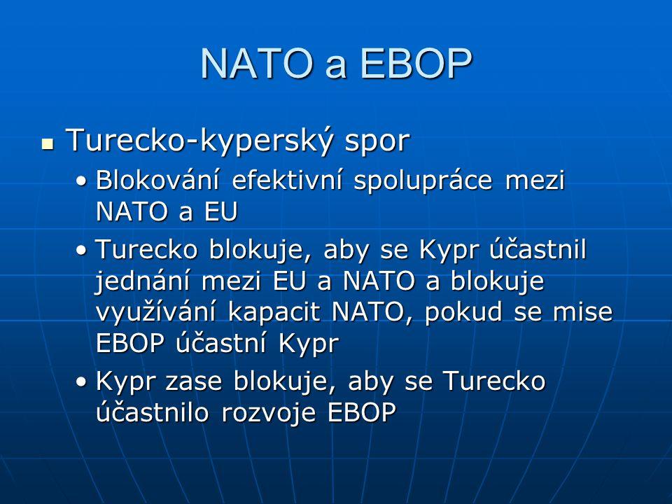 NATO a EBOP Turecko-kyperský spor