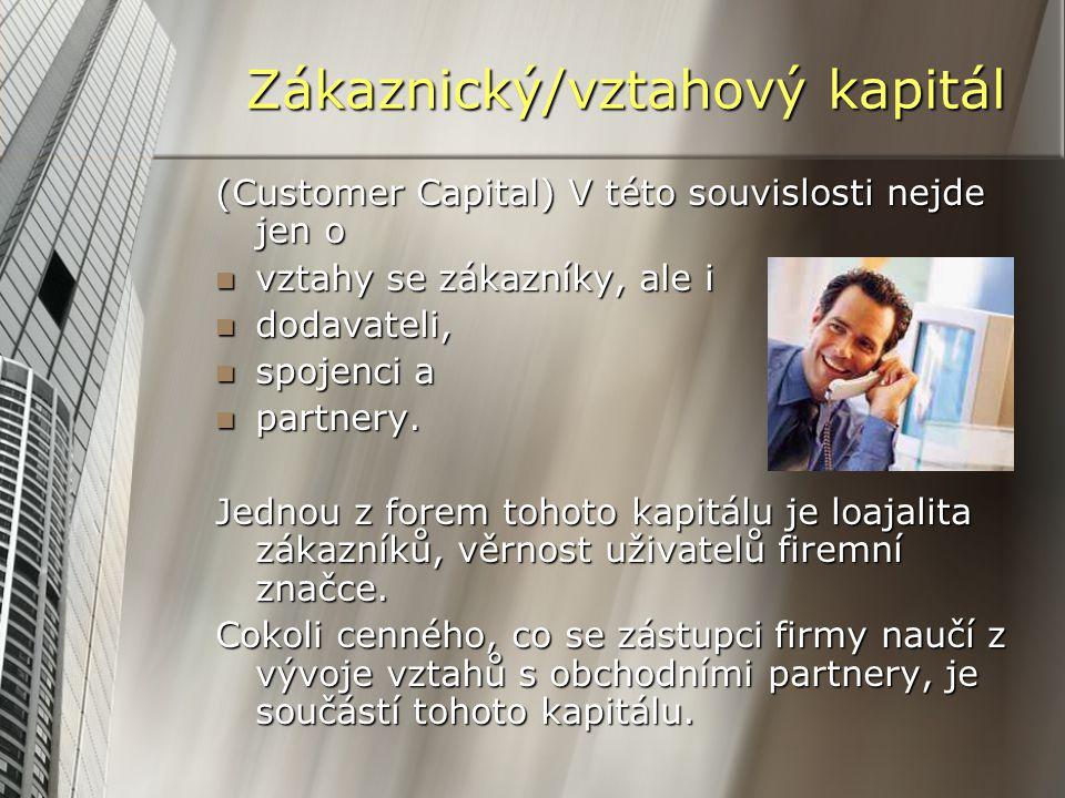 Zákaznický/vztahový kapitál