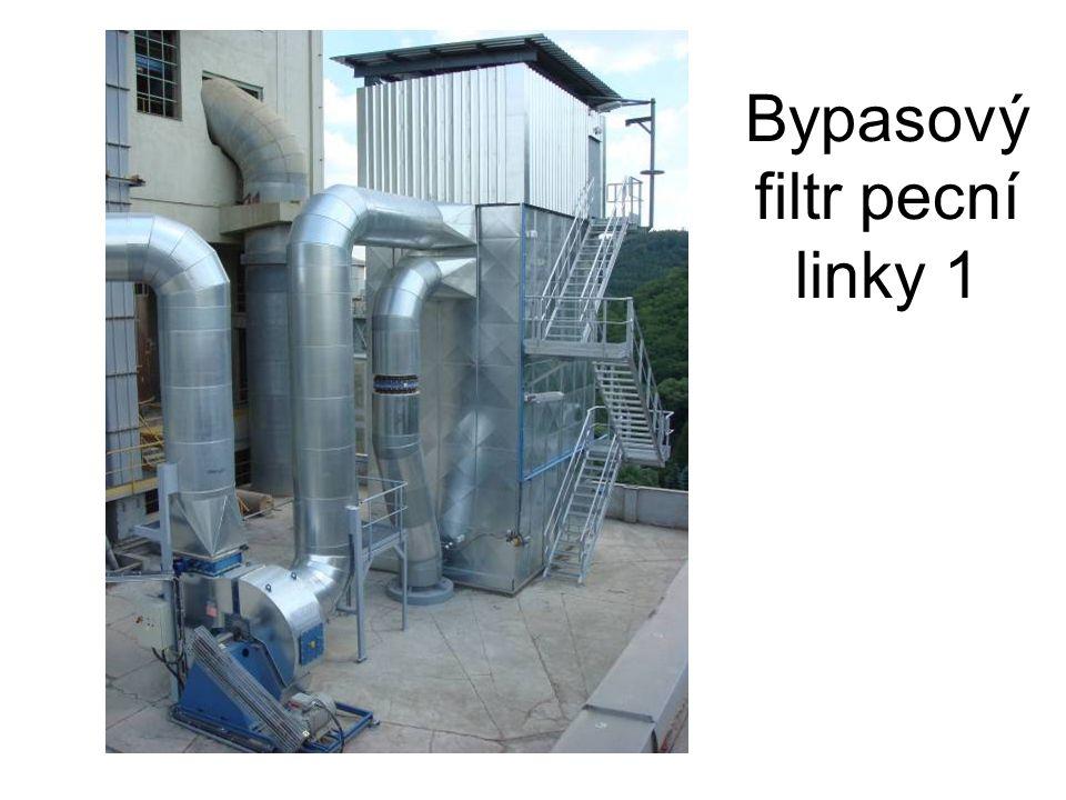 Bypasový filtr pecní linky 1