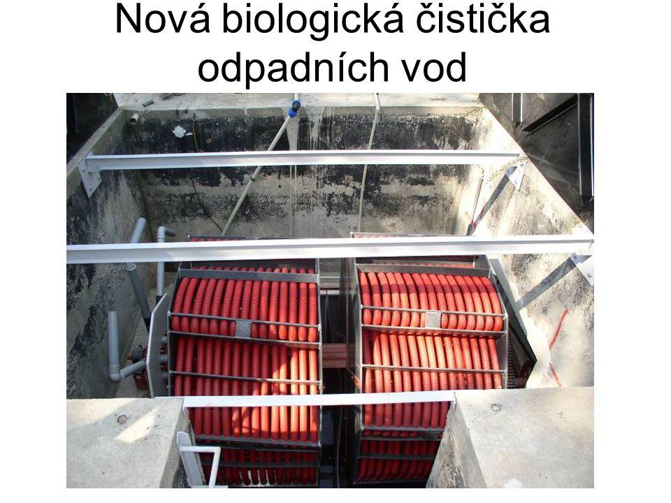 Nová biologická čistička odpadních vod