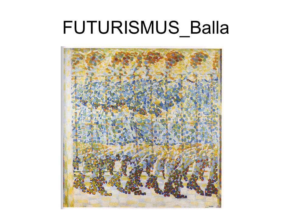FUTURISMUS_Balla