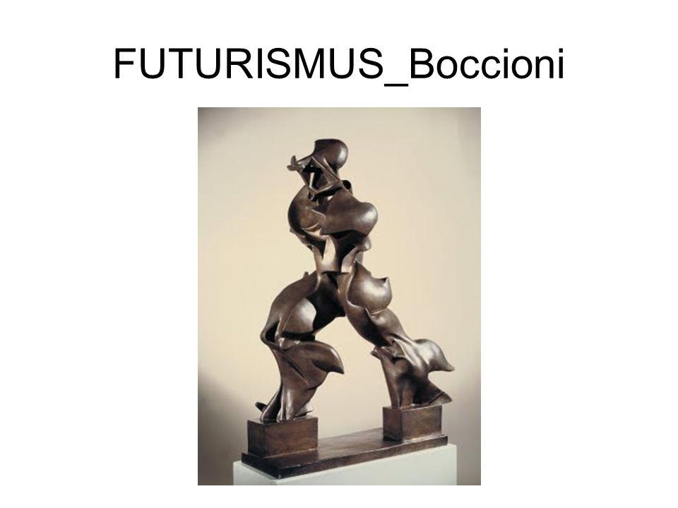 FUTURISMUS_Boccioni