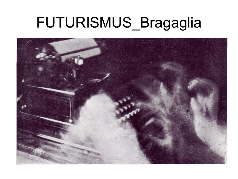 FUTURISMUS_Bragaglia