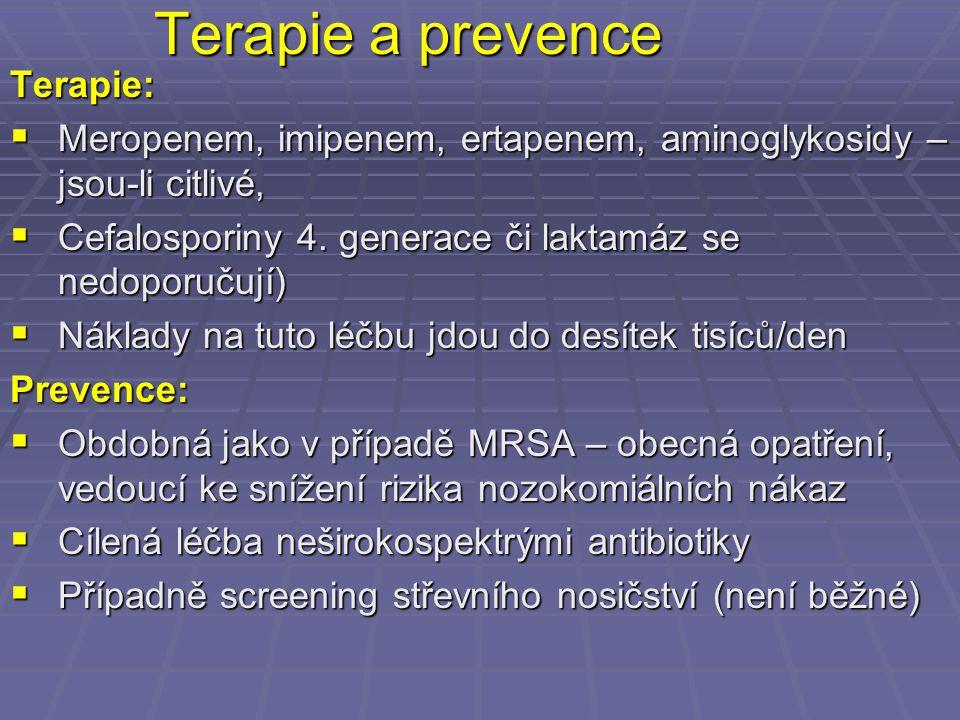 Terapie a prevence Terapie: