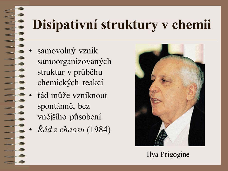 Disipativní struktury v chemii