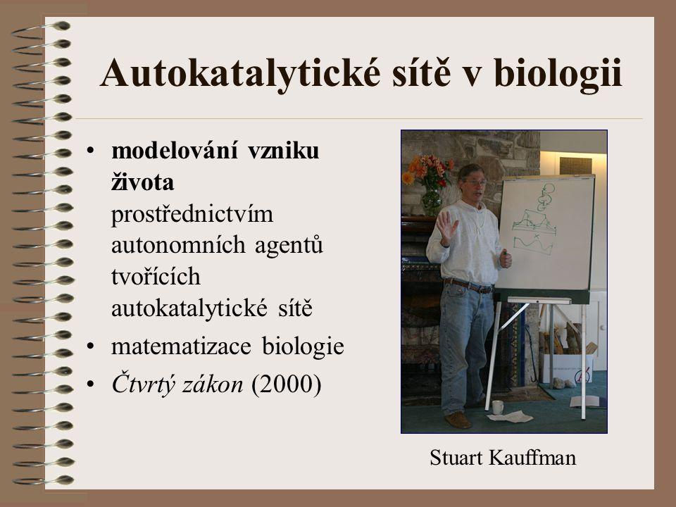 Autokatalytické sítě v biologii