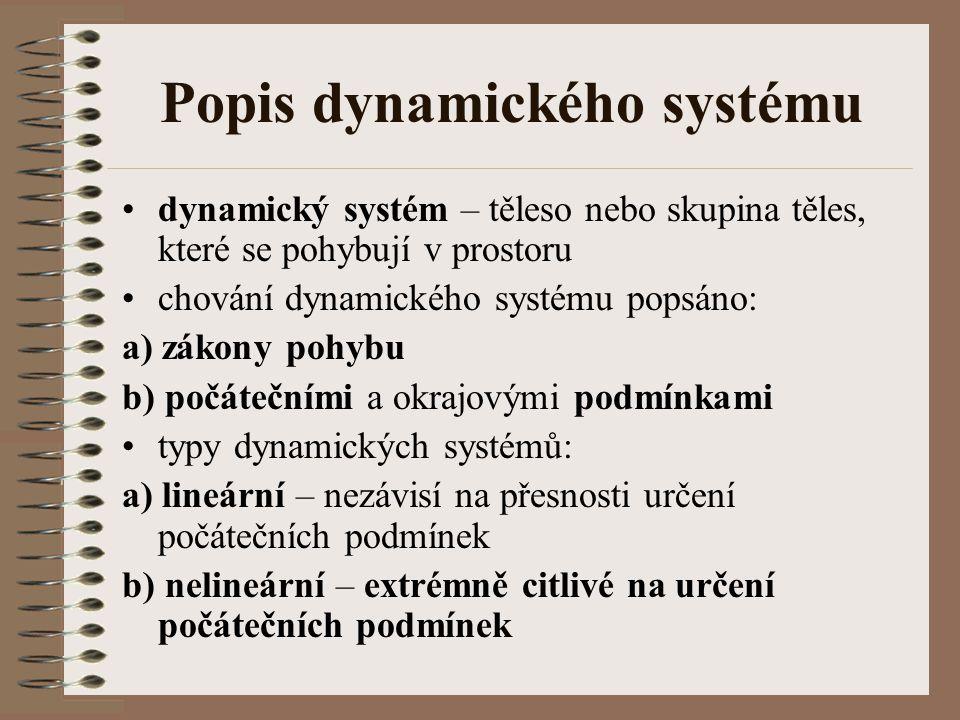 Popis dynamického systému