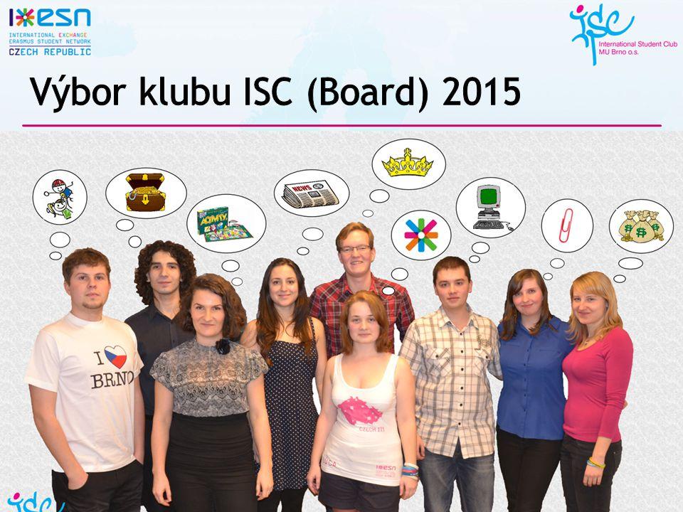 Výbor klubu ISC (Board) 2015