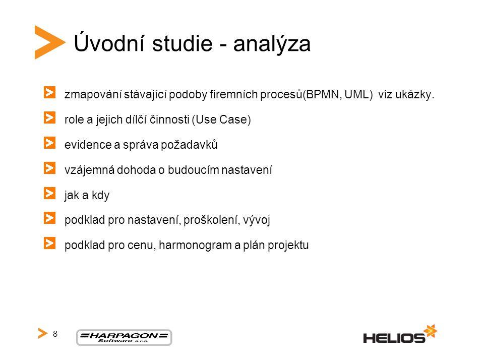 Úvodní studie - analýza