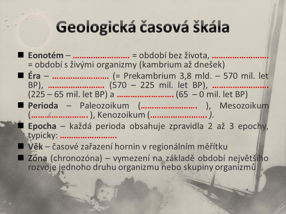 Geologická časová škála