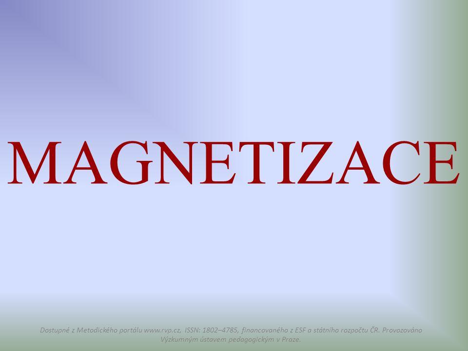 MAGNETIZACE