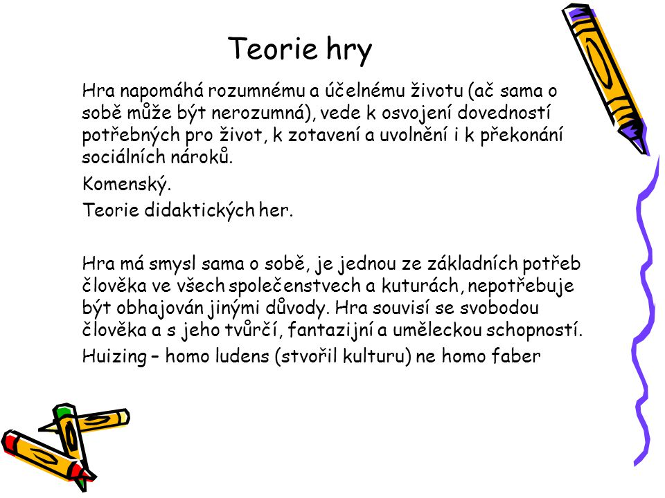 Teorie hry