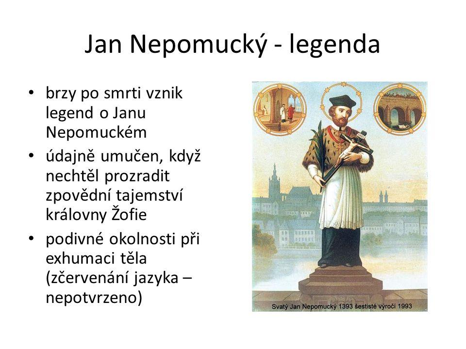 Jan Nepomucký - legenda