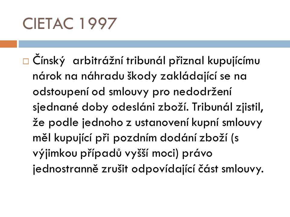 CIETAC 1997