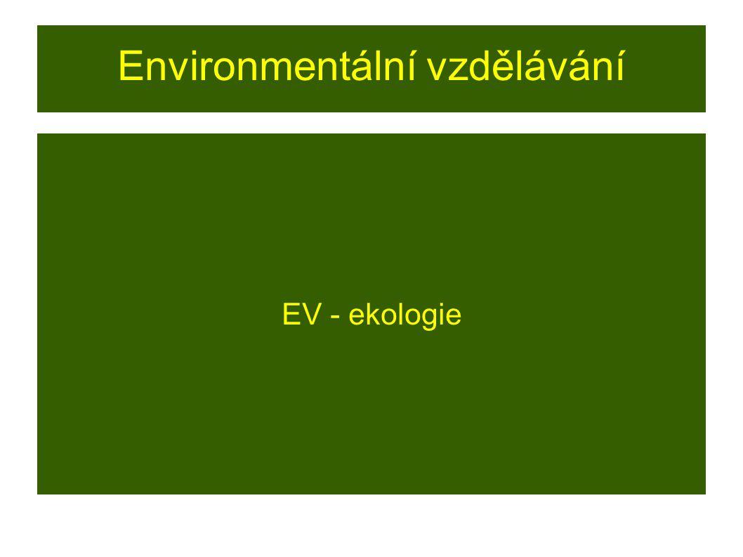 Environmentální vzdělávání