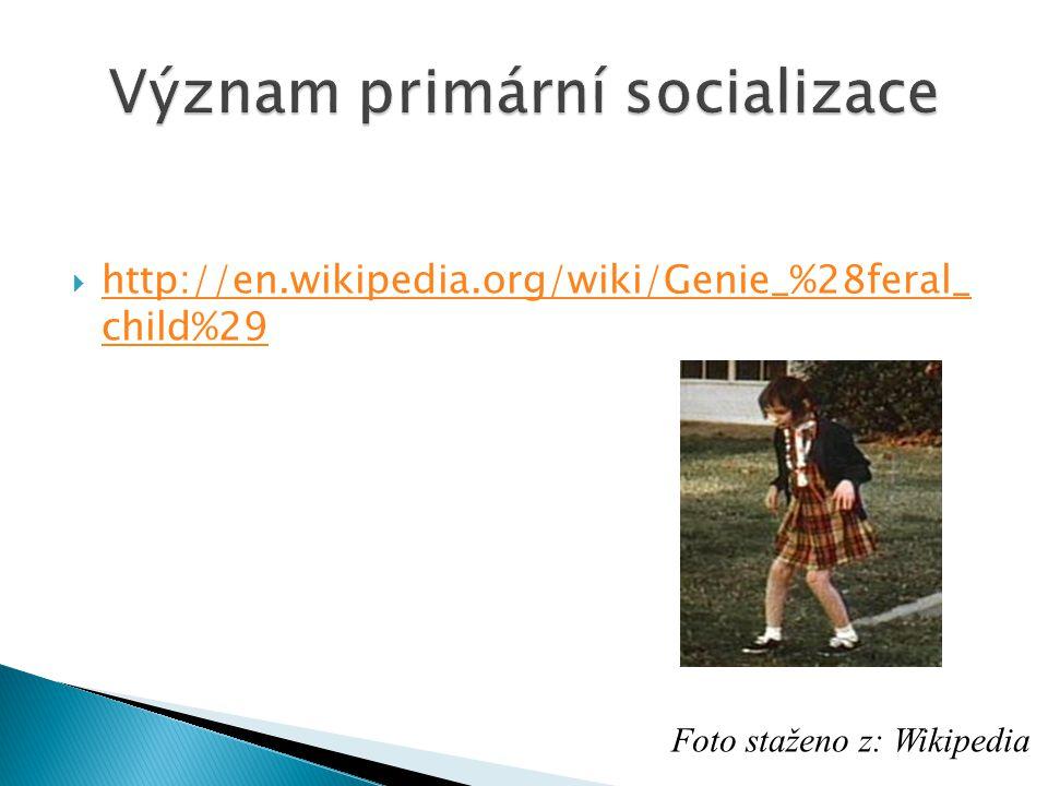 Význam primární socializace
