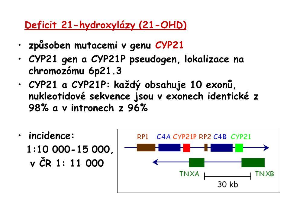 Deficit 21-hydroxylázy (21-OHD)