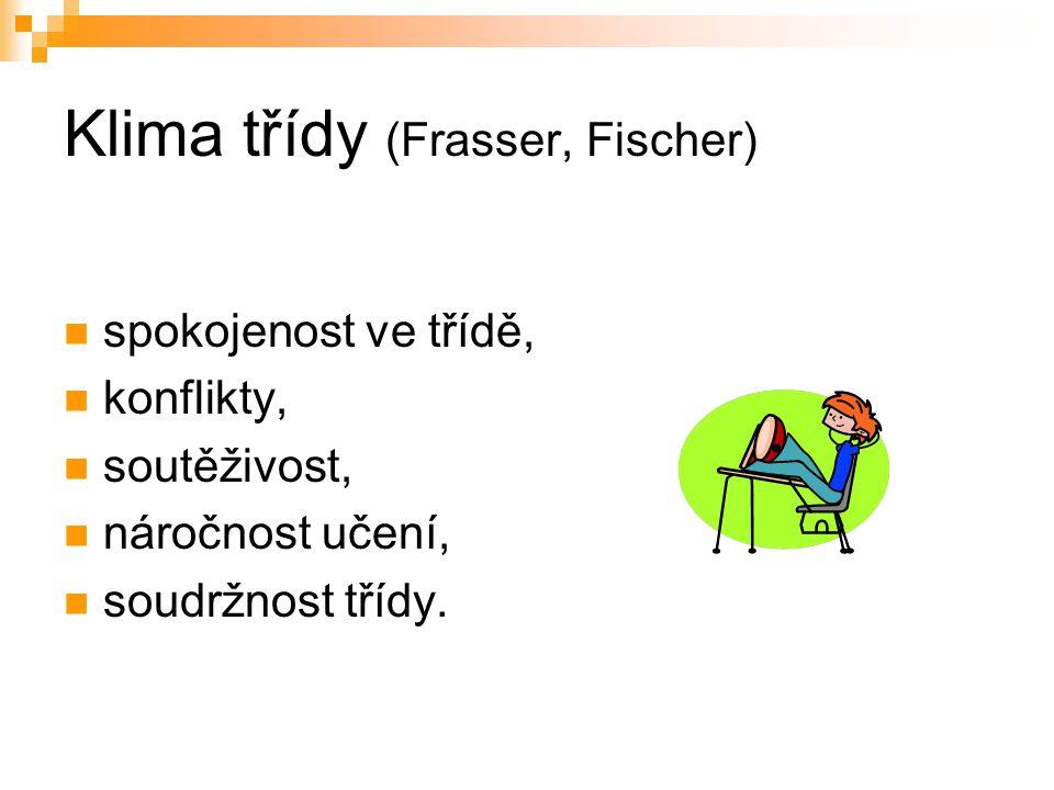 Klima třídy (Frasser, Fischer)