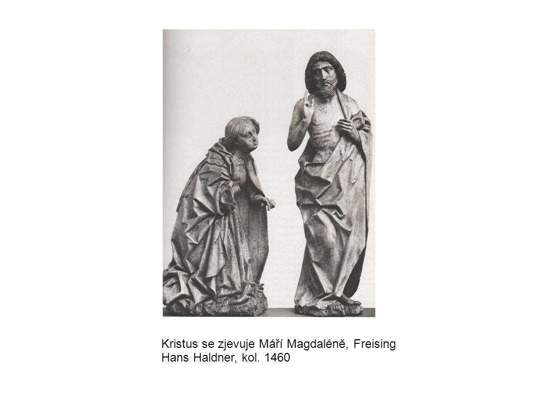 Kristus se zjevuje Máří Magdaléně, Freising