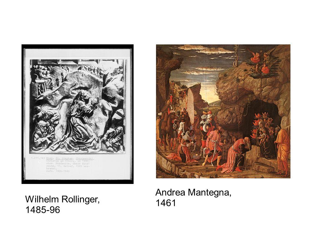 Andrea Mantegna, 1461 Wilhelm Rollinger, 1485-96