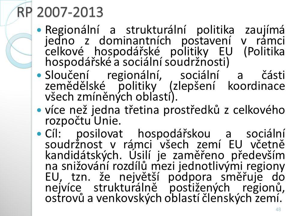 RP 2007-2013