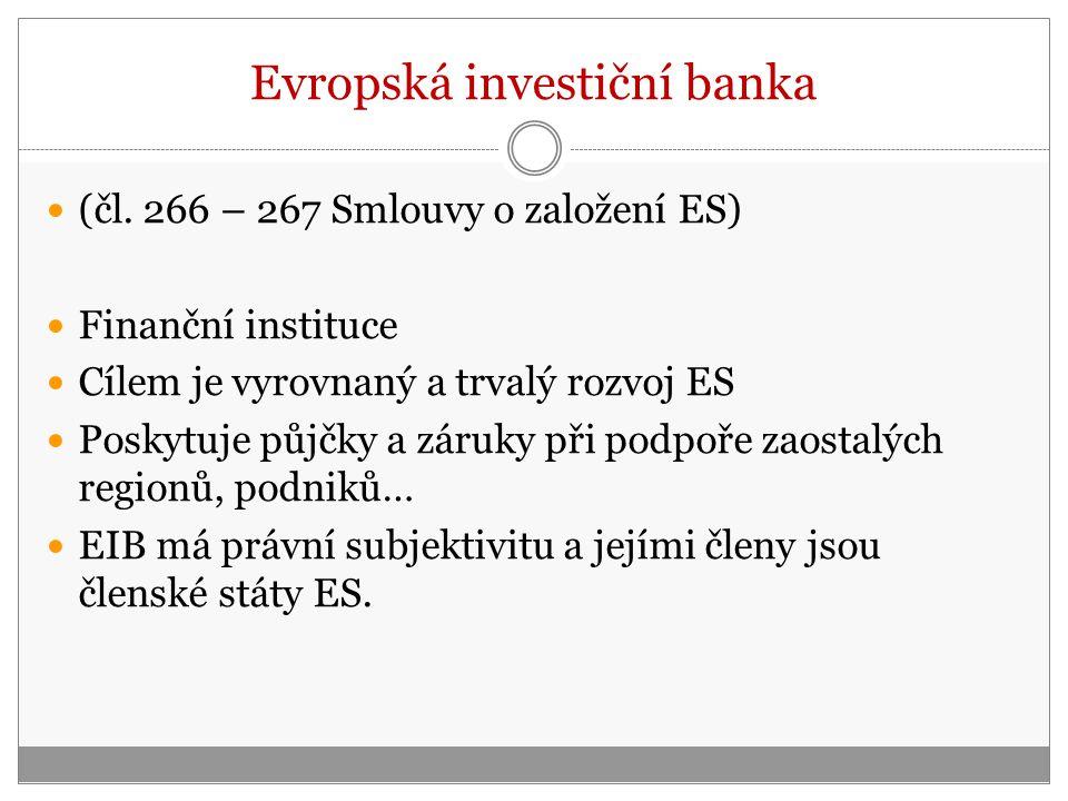 Evropská investiční banka