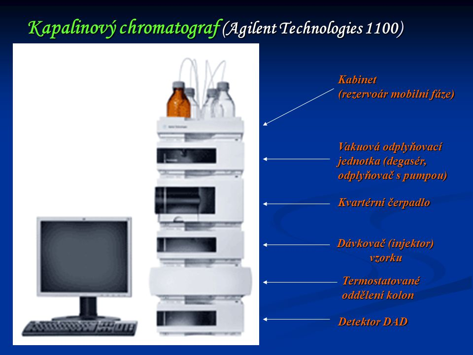 Kapalinový chromatograf (Agilent Technologies 1100)