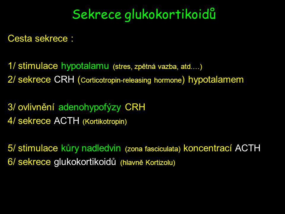Sekrece glukokortikoidů