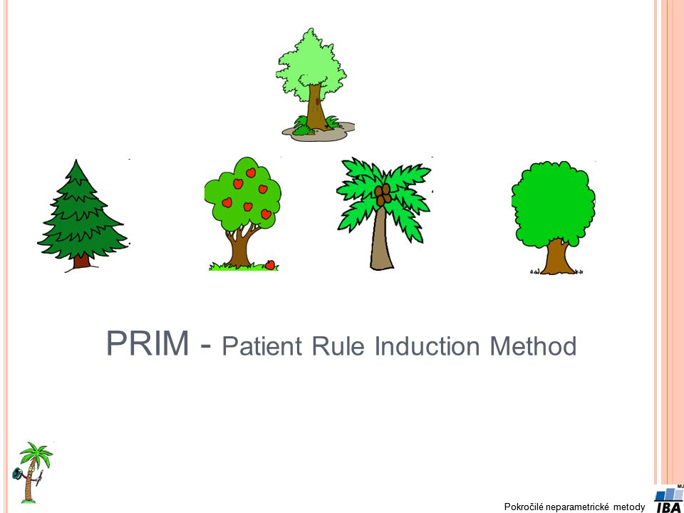 PRIM - Patient Rule Induction Method