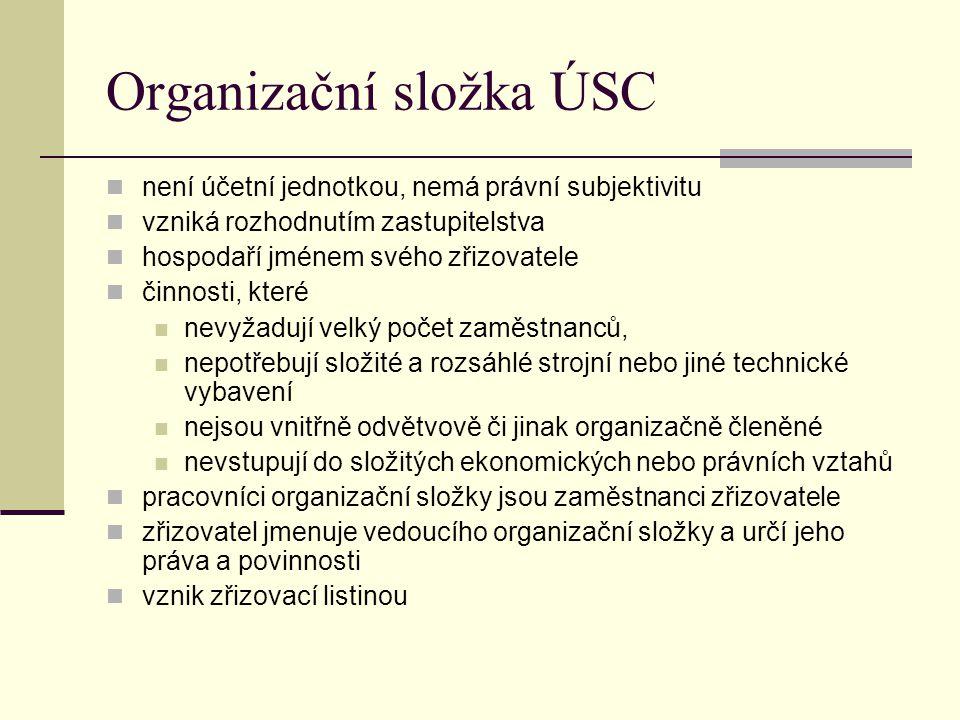 Organizační složka ÚSC