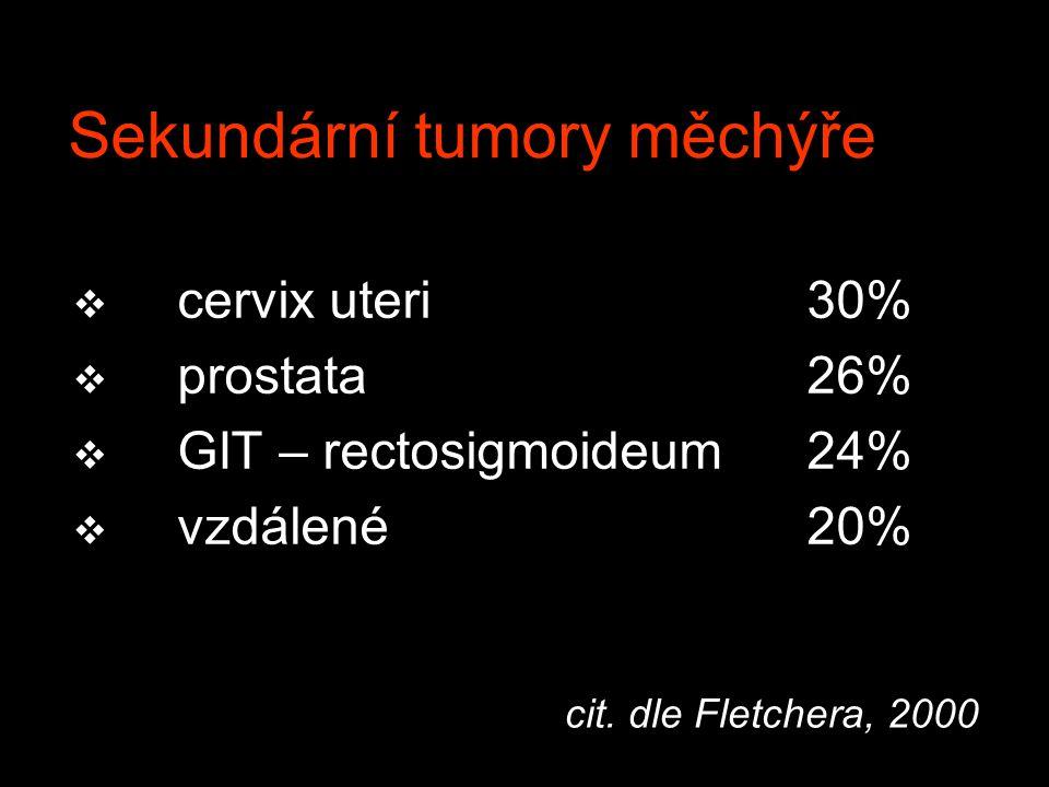 Sekundární tumory měchýře