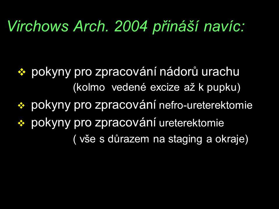 Virchows Arch. 2004 přináší navíc: