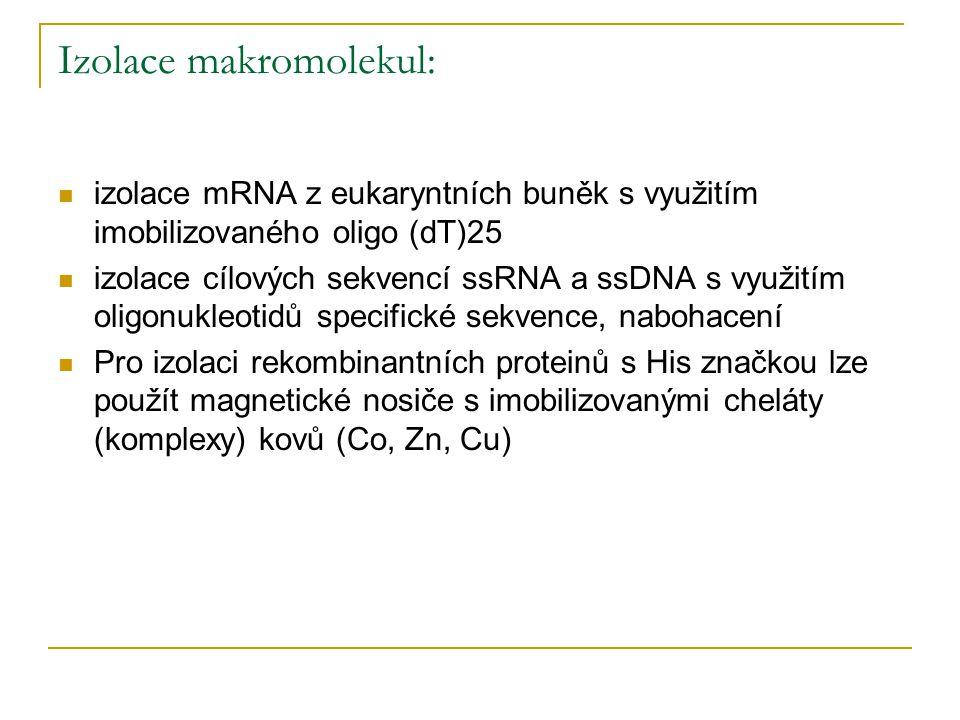 Izolace makromolekul: