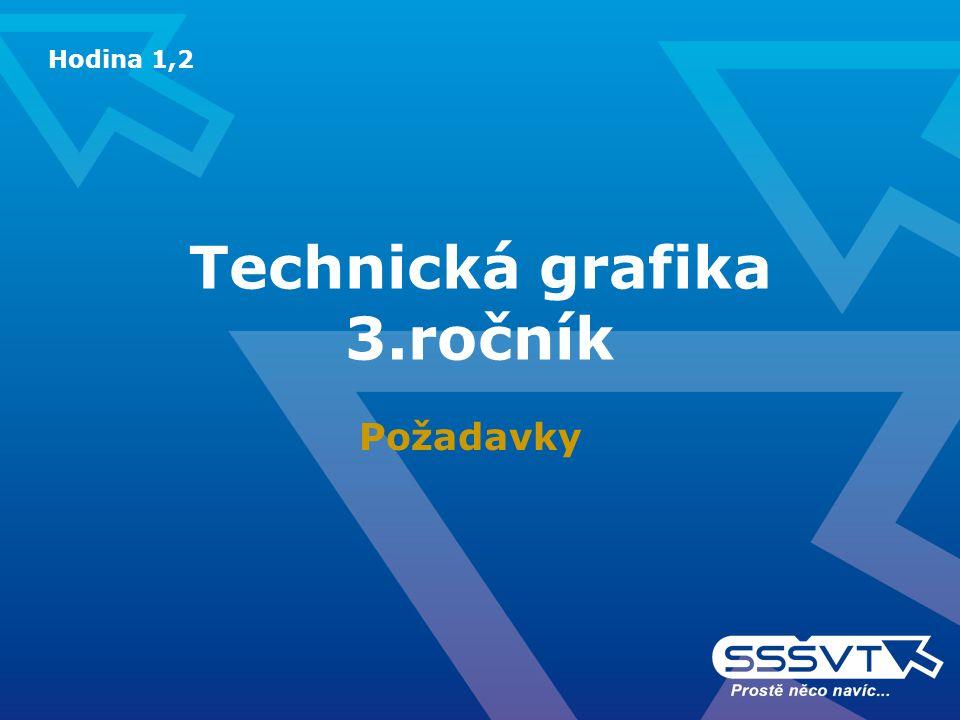 Technická grafika 3.ročník