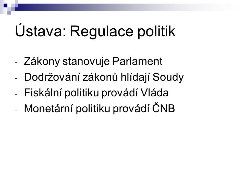 Ústava: Regulace politik