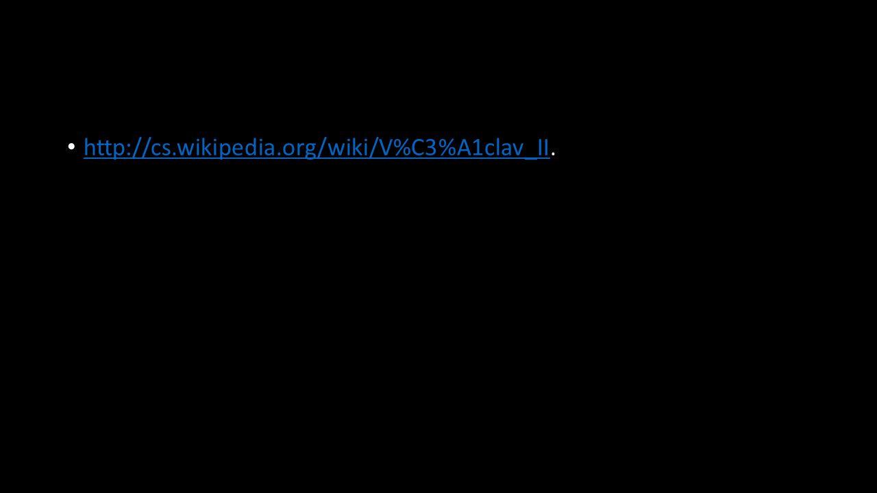 http://cs.wikipedia.org/wiki/V%C3%A1clav_II.
