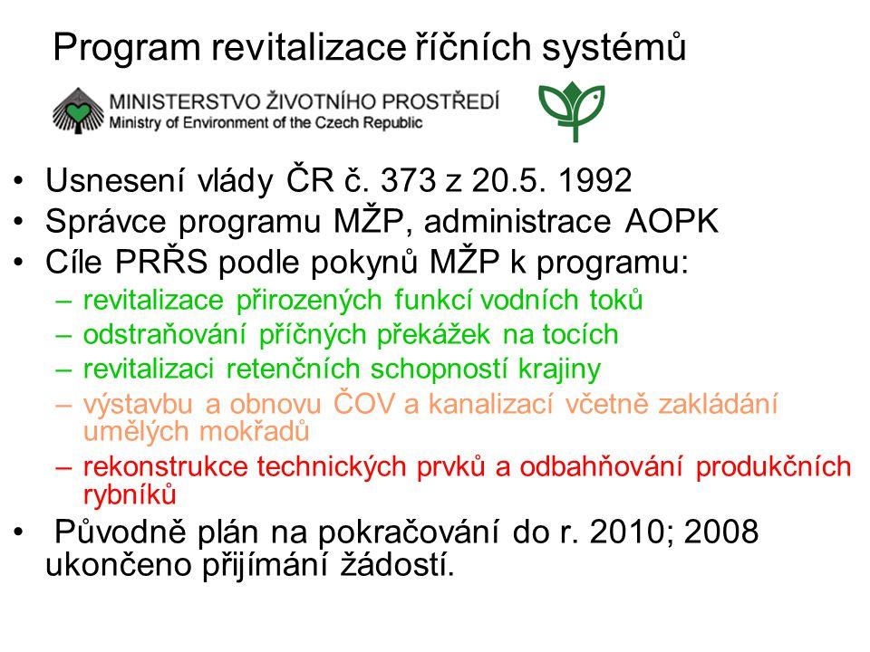 Program revitalizace říčních systémů