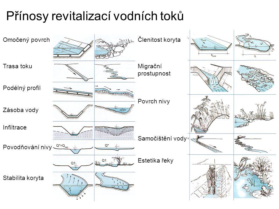 Přínosy revitalizací vodních toků