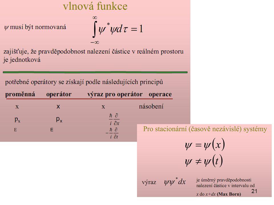 ψ∗ je funkce komplexně sdružená k ψ