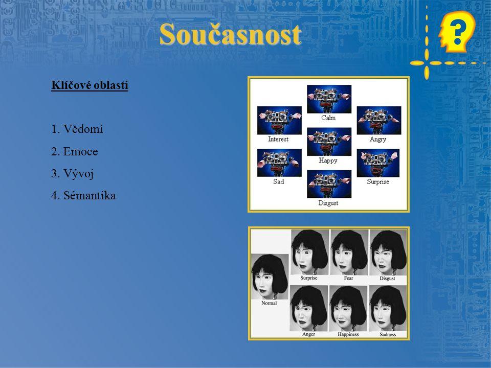 Klíčové oblasti 1. Vědomí 2. Emoce 3. Vývoj 4. Sémantika