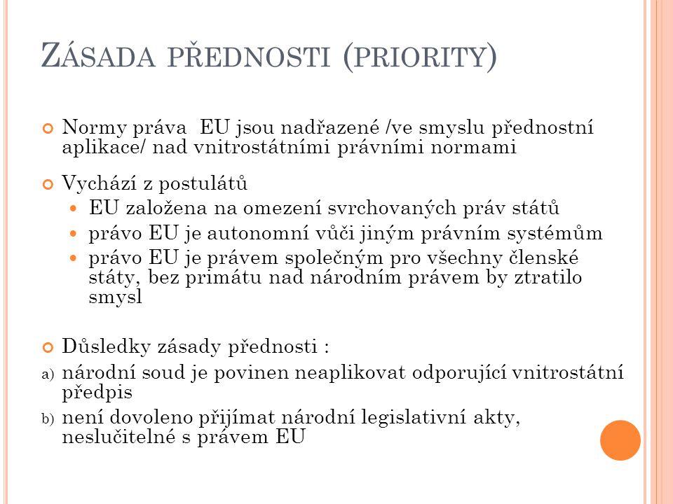 Zásada přednosti (priority)