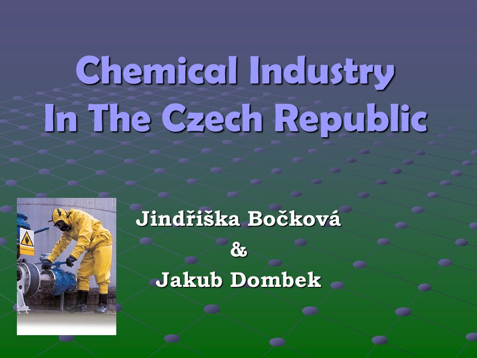 Chemical Industry In The Czech Republic
