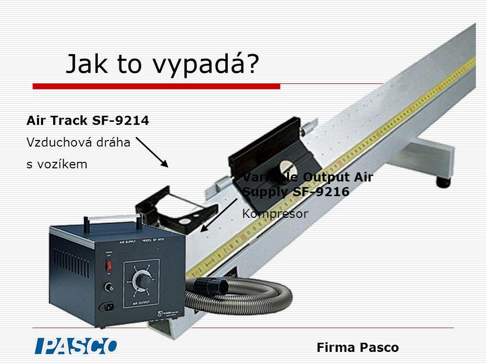 Jak to vypadá Air Track SF-9214 Vzduchová dráha s vozíkem